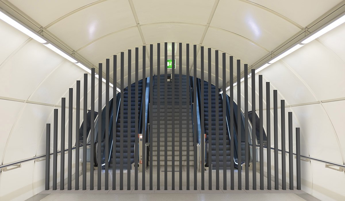 metro zamknięte